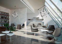 Arredamento ufficio - Sala d'attesa